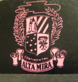 Alta Mira Matchbook