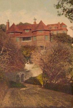 House at top of Princess St c 1905