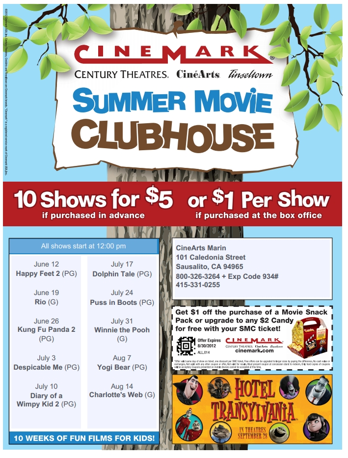 Summer Movie Clunhouse 2012