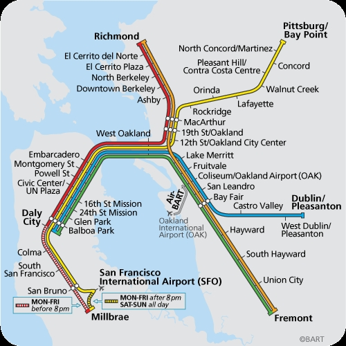 2017 Guide to Getting to Giants Games at AT T Park