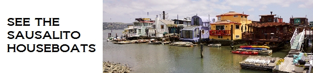 Take your own walking tour of the Sausalito houseboats, plus historical information about the floating homes community and some of its most famous vessels.