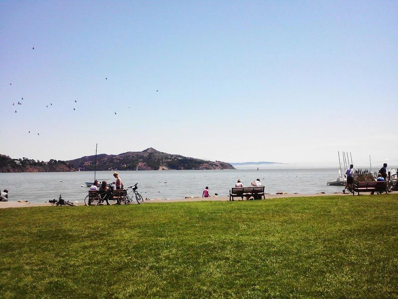 Angel Island from Ferry Park