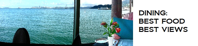 Best Sausalito Restaurants for Breakfast, Lunch, Dinner and for Spectacular Bay Views