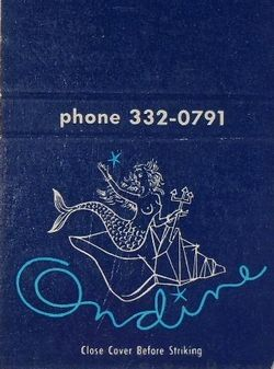 Ondine Matchbook