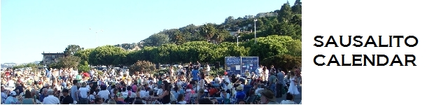 Detailed list of regularly scheduled meetings, music, activities etc. in Sausalito